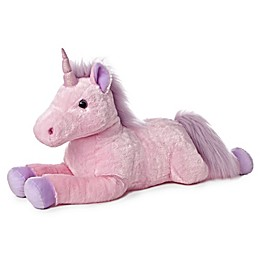Aurora® Super Flopsies Celestia Unicorn Plush Toy in Pink