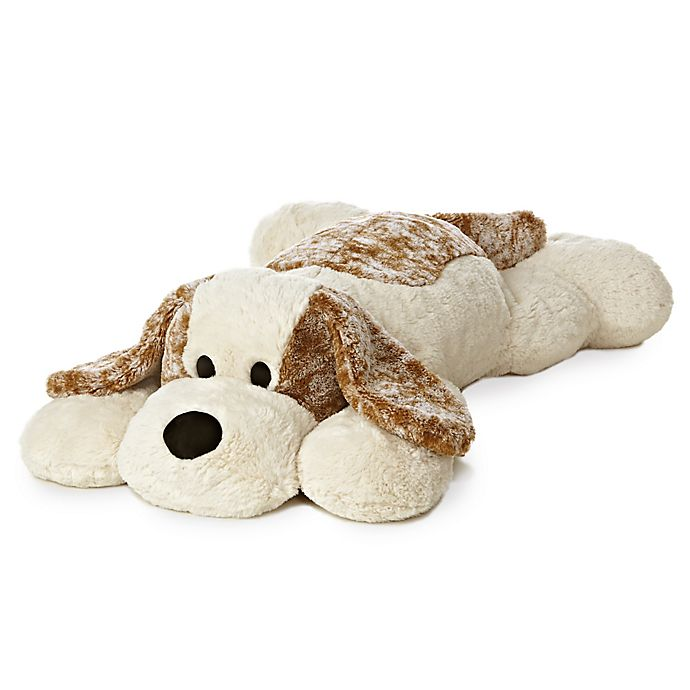 Alternate image 1 for Aurora® Super Flopsies Big Scruff Puppy Plush Toy in Beige