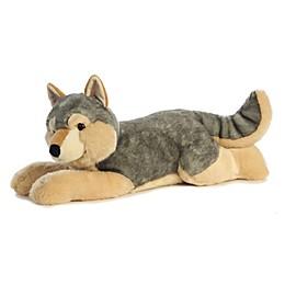 Aurora World® Super Flopsies Wolf Plush Toy in Grey/Tan
