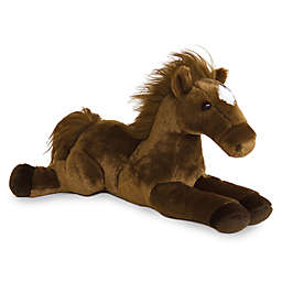 Aurora® Outlaw Horse Plush Toy in Brown