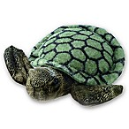 Aurora World® Sea Turtle Plush Toy in Green