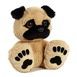 Aurora® Taddle Toes Pudgy Pug Plush Toy in Tan/Black