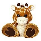 Aurora® Taddle Toes Safari Giraffe Plush Toy in Brown