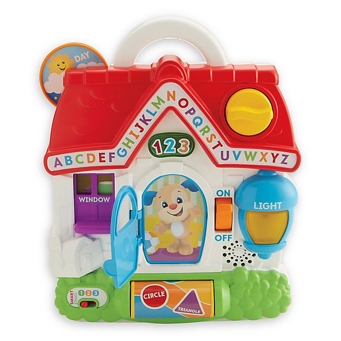 Alternate image 1 for Fisher Price® Laugh & Learn® Puppy's Busy Activity Home