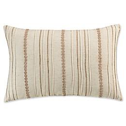 KAS Amara Ruffle Throw Pillow in Natural