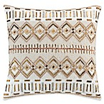 KAS Amara Sequin Throw Pillow in Gold