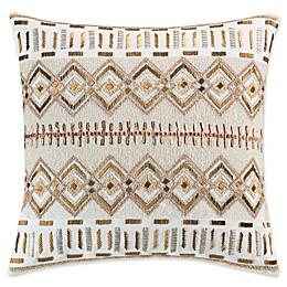 KAS Amara Sequin Throw Pillow in Gold