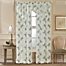 Part of the Water Lily Scroll Ascot Window  Curtain Panel and Valance