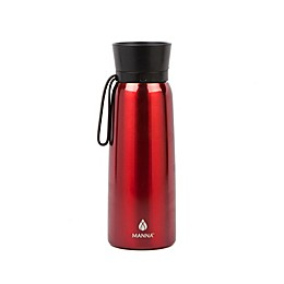 Manna™ Helix 24 oz. Double Wall Stainless Steel Water Bottle in Goji Berry