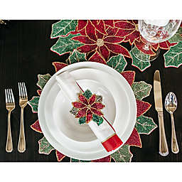 classic traditional christmas table - Christmas Placemats And Napkins