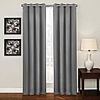 Ashton 84-Inch Grommet Top Room Darkening Window Curtain Panel in Platinum