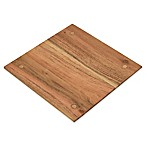 Artisanal Kitchen Supply® Acacia Wood and Metal Slatted Trivet