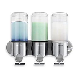 simplehuman® Triple Wall Mount Pumps