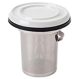 CasaWare® 2-Piece Tilt & Drip 8 oz. Tea Infuser Set in White
