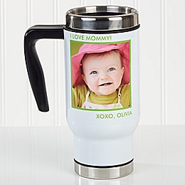 Picture Perfect 1-6 Photos 14 oz. Travel Mug