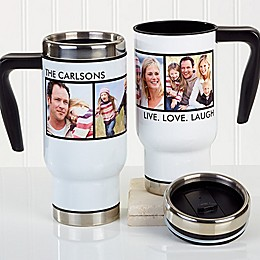 Picture Perfect 4 Photo 14 oz. Commuter Travel Mug