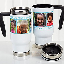 Picture Perfect 5 Photo 14 oz. Commuter Travel Mug