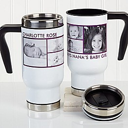 Picture Perfect 6 Photo 14 oz. Commuter Travel Mug