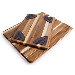 Architec® Gripperwood™ Acacia Cutting Boards (Set of 2)