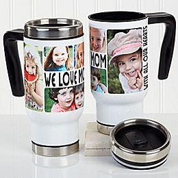 5 Photo Loving Message 14 oz. Commuter Travel Mug