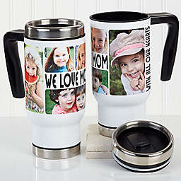 5 Photo Loving Message 14 oz. Commuter Travel Mug