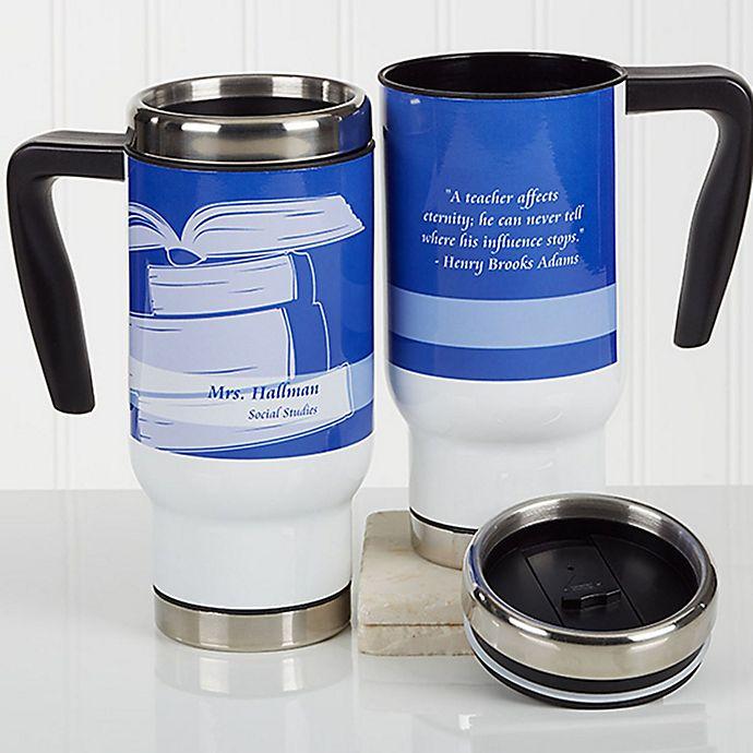Alternate image 1 for Teaching Professions 14 oz. Travel Mug