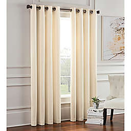 Garland Lined Grommet Top Room Darkening Window Curtain Panel