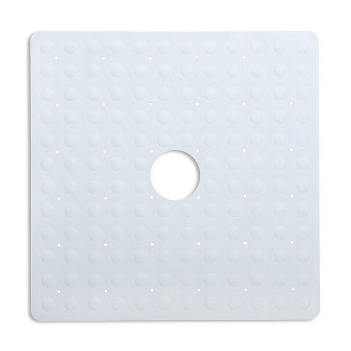 Alternate image 1 for SlipX Solutions Square Safety Shower Mat in White
