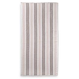 Bella Stipe Beach Towel in Blush