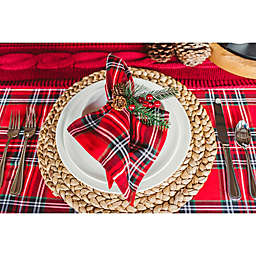 classic cozy christmas table - Christmas Placemats And Napkins