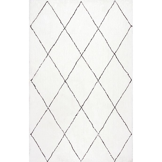 Alternate image 1 for nuLOOM Armitra 5-Foot x 8-Foot Area Rug in Natural