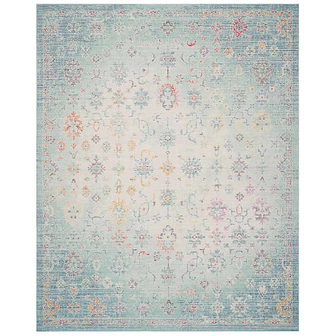Alternate image 1 for Safavieh Windsor 8-Foot x 10-Foot Angelina Rug in Seafoam