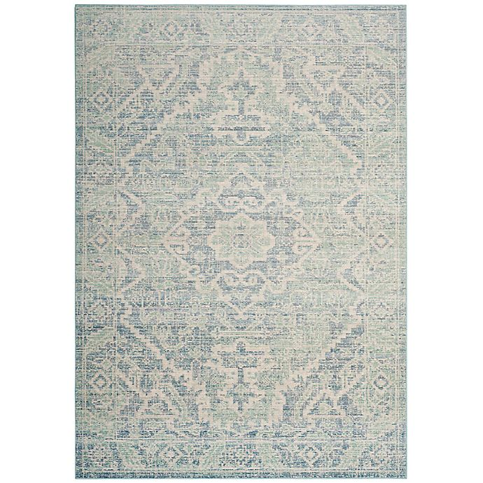 Alternate image 1 for Safavieh Windsor 5-Foot x 7-Foot Arden Rug in Seafoam