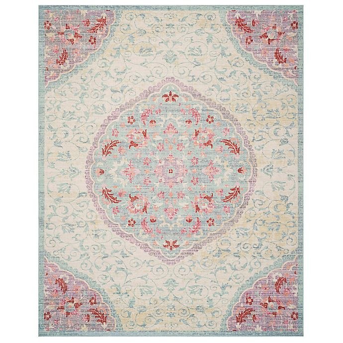 Alternate image 1 for Safavieh Windsor 8-Foot x 10-Foot Claudine Rug in Light Grey