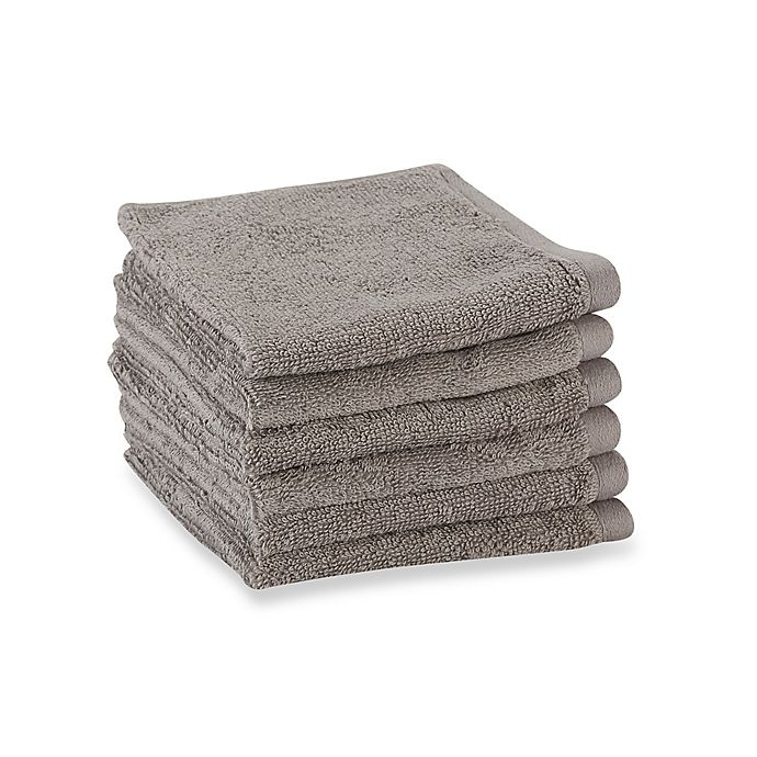 Alternate image 1 for Tranquility Washcloths (Set of 6)