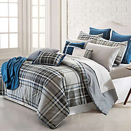 Pacific Coast Textiles George Plaid Reversible Comforter Set