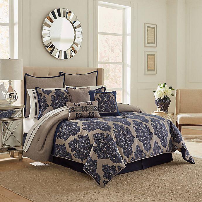 Alternate image 1 for Vue Ma Maison Monte Carlo Comforter Set