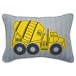 Waverly Kids Under Construction Dump Truck Throw Pillow