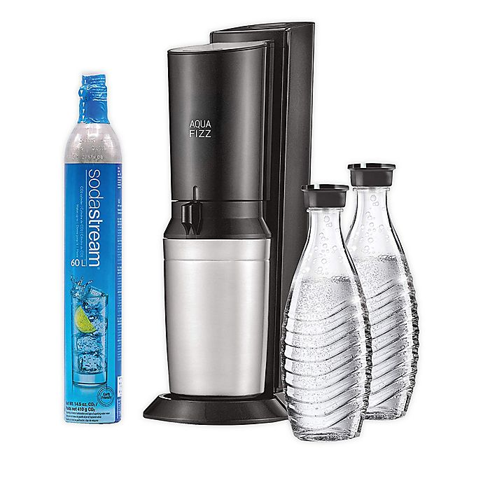 Alternate image 1 for SodaStream® Aqua Fizz Sparkling Water Maker Starter Kit