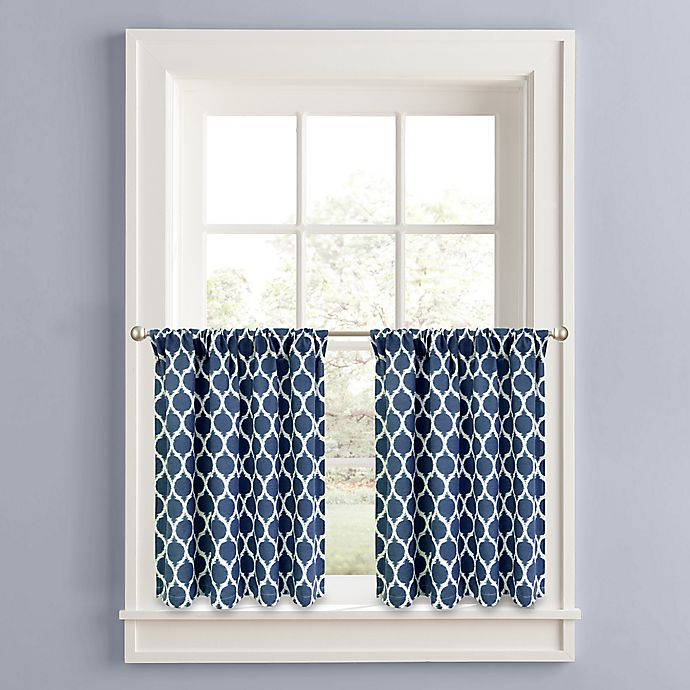 Alternate image 1 for Morocco Window Curtain Tier Panel Pair