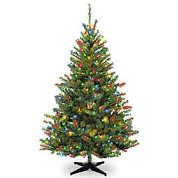 National Tree Company Pre-Lit Multicolor Kincaid Spruce Artificial Christmas Tree
