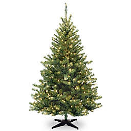 national tree company pre lit kincaid spruce artificial christmas tree