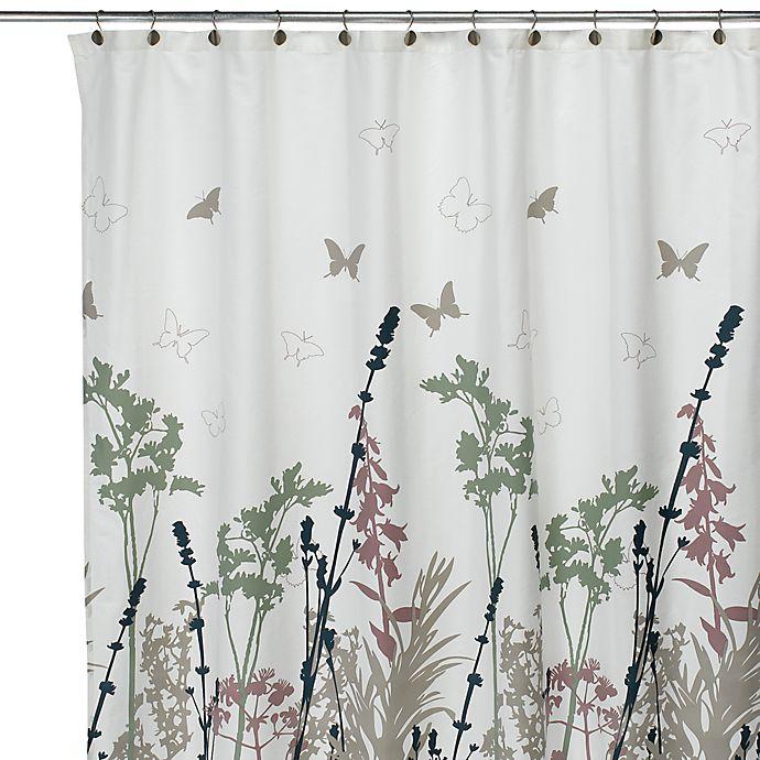 Deco BainTM Reprieve 72 X Fabric Shower Curtain