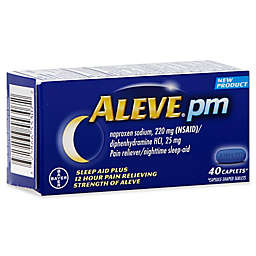Aleve® PM 40-Count Nighttime Sleep Aid Plus Pain Relief Caplets