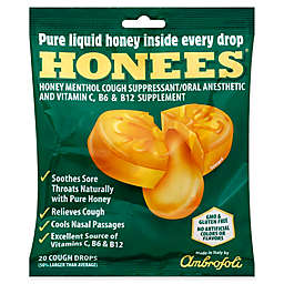 Honees® 20-Count Original Pure Honey Menthol Cough Drops