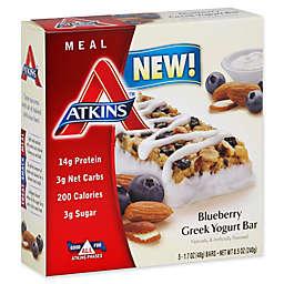 Atkins® 5-Pack Greek Yogurt Bar in Blueberry