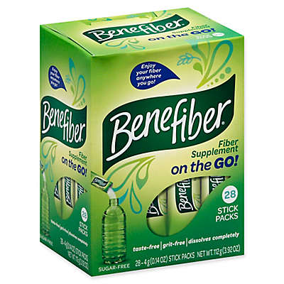 Benefiber® 28-Count On The Go Stick Packs Unflavored