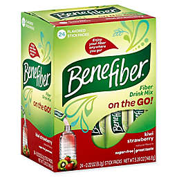 Benefiber® 24-Count On The Go Stick Packs in Kiwi