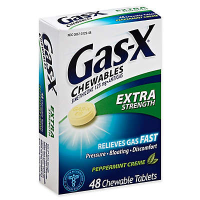 Gas-X® 48-Count Extra Strength Chewable Tablets in Peppermint Creme