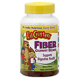 L'il Critters 90-Count Fiber Digestive Support Gummy Bears